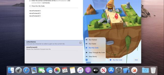 Apple公式プログラミング学習アプリのMac版「Swift Playground for Mac」がリリース