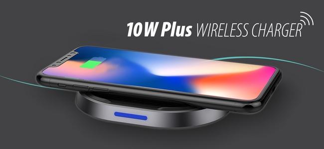 iPhone X/8/8 Plusの7.5W急速充電対応で3980円!フォーカルポイントから「TUNEWEAR 10W Plus WIRELESS CHARGER」が発売