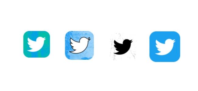 Twitterがアイコンの変更機能をテスト中。ホーム画面のアイコンデザインを選べる様になるかも
