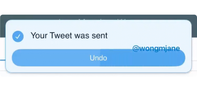 Twitterが投稿取り消し機能を開発していることが発見される