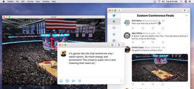 復活が予告されたMac向け新Twitterアプリの詳細が公開。iOS版をベースにMac向けのネイティブ機能を追加