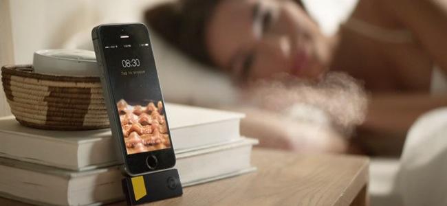 これなら起きられる?ベーコンの焼ける音と匂いで心地よい目覚めを提供するデバイス
