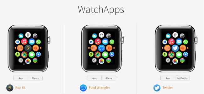 Apple Watch向けのアプリの動きを体験できるサイト「WatchApps」が面白いですよ