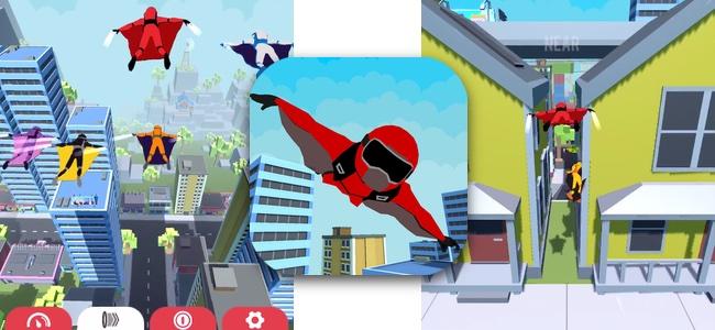 誰よりも早くゴールまで飛べっ!闘う姿が編隊の様に美しい空中対戦レース「Wind Rider!」