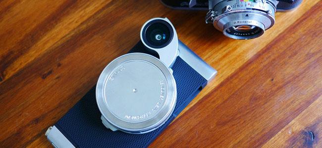 iPhoneが本格的カメラになるリボルバー式レンズ搭載ケース「ZTYLUS ZIP-5S CASE & RV-2 LENS COMBO」がかっこいい