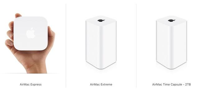 生産の終了が発表された「AirMac」シリーズが一部の国のApple公式ストアでは販売終了し始めている模様