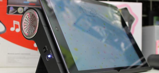 iPadを乗せるだけで音を増幅してくれるタブレット専用スタンドが発売!ーアキバさんぽ