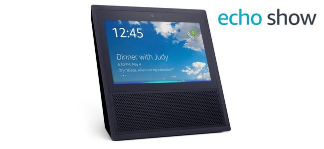 米Amazon、新型スマートホームデバイス「Echo Show」正式発表。ディスプレイやカメラを搭載しビデオ通話や動画視聴が可能に