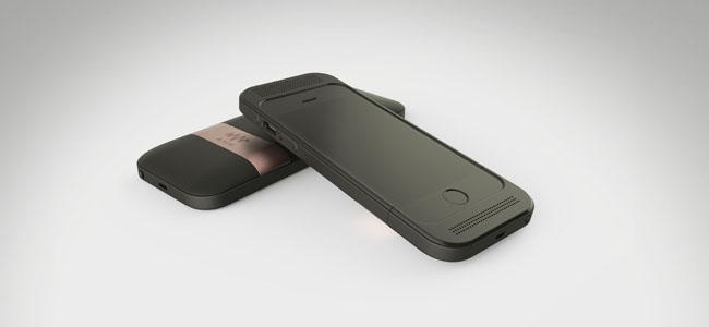 アンプとバッテリーを内蔵したiPhoneケース「Amp」でよりよいサウンドを