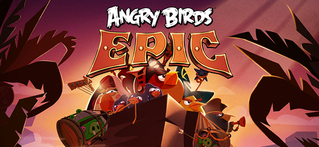 Angry Birdsの新作「Angry Birds Epic」はシリーズ初のRPGだ!