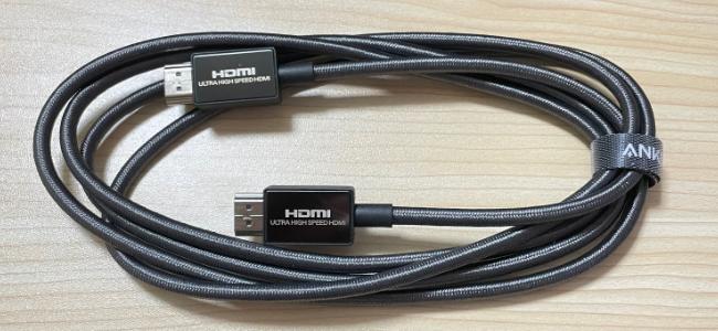 Ankerが高画質出力が可能なHDMIケーブル「Anker Ultra High Speed HDMI ケーブル」を発売開始。8K(60Hz) 4K(120Hz) 48Gbpsに対応