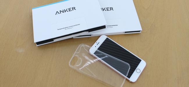 Ankerから早くもiPhone 7/7 Plus用のガラスフィルムやシンプルで使いやすいクリアケースが1000円以下から販売開始!