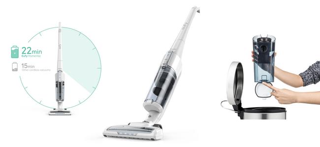 Ankerの家電ブランドeufyから軽量化&容量アップしたコードレス掃除機「eufy HomeVac」発売開始!
