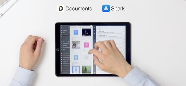 iPadの画面上のドラッグ&ドロップでファイルの移動や添付が可能に!メールやファイル管理アプリなどReaddle提供のアプリ間で
