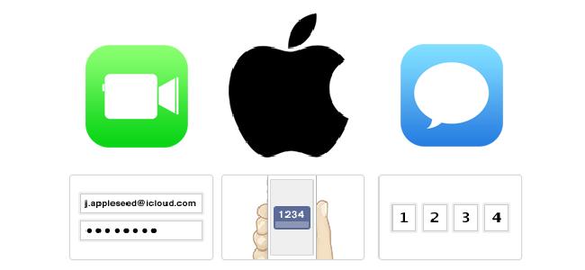 Apple、FacetimeとiMessageにも二段階認証を導入