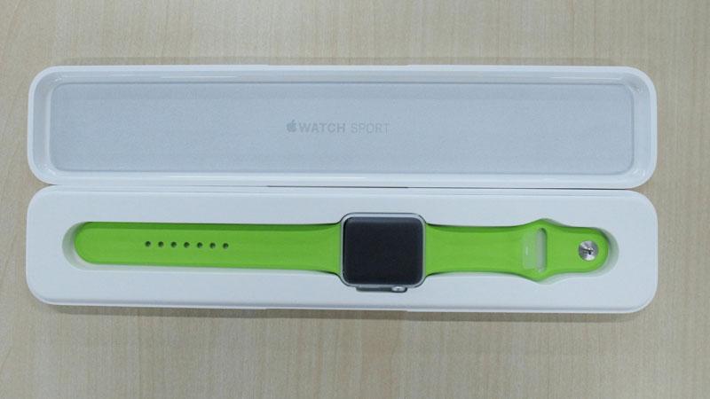 apple watch sport green (9)