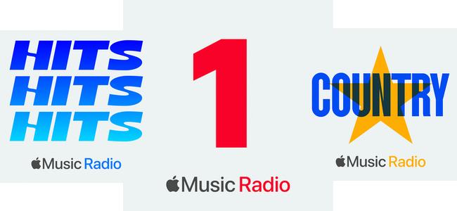 Apple Music内で放送されているラジオ「Beats 1」が「Apple Music 1」に名称を変更。新たに「Apple Music Hits」「Apple Music Country」も開始