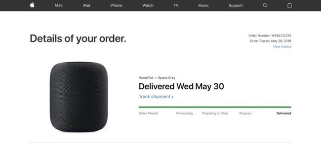 Apple公式オンラインストアのデザインが変更。注文済み商品の追跡情報などが見やすく