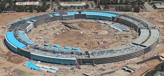 iPhoneの純正マップアプリでAppleの新社屋「Apple Park」の3D画像を自由に見渡せる