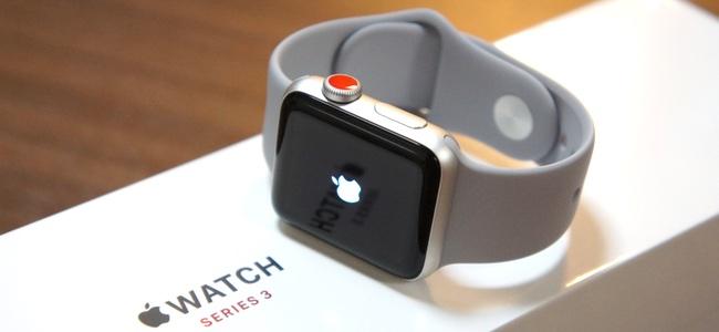 Apple Watch Series 3のセルラーモデルの早期購入ユーザーはキャリアの本人登録をお忘れなく!