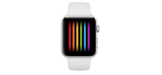 Apple Watchに新しくレインボーカラーのウォッチフェイスが登場か