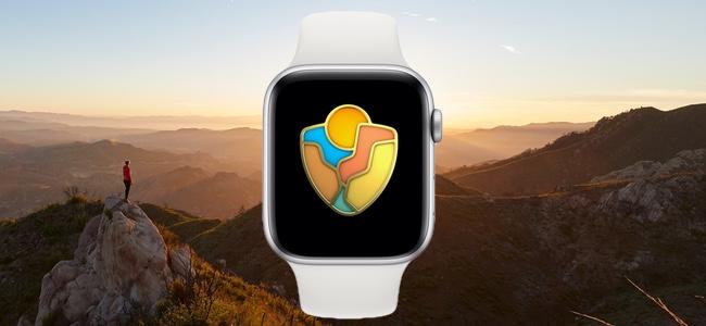 今年も8月25日にApple Watchの限定アクティビティ「国立公園チャレンジ」が実施。米国国立公園の支援キャンペーンの一環として