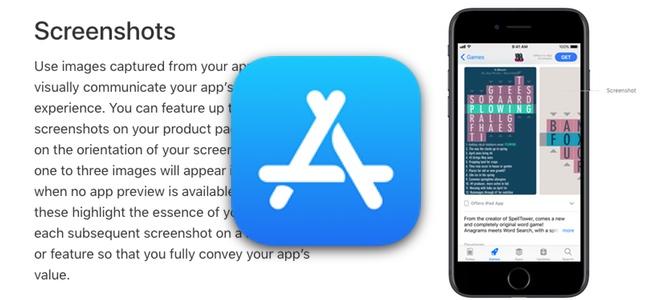 App Storeに申請・掲載するアプリのスクリーンショットが最大10枚まで可能に
