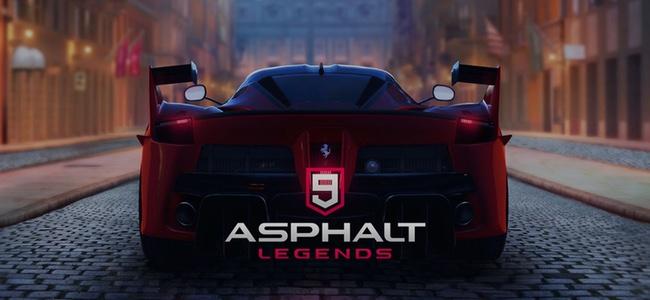 「アスファルト9:Legends」リリース!ハイクオリティなグラフィックのスマホレースゲームの金字塔「アスファルト」シリーズから久々の新作