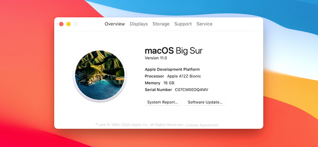 新たに発表された「macOS Big Sur」のOSバージョンは11.0。20年近くに渡ったOS X(10.x)がついに次バージョンに