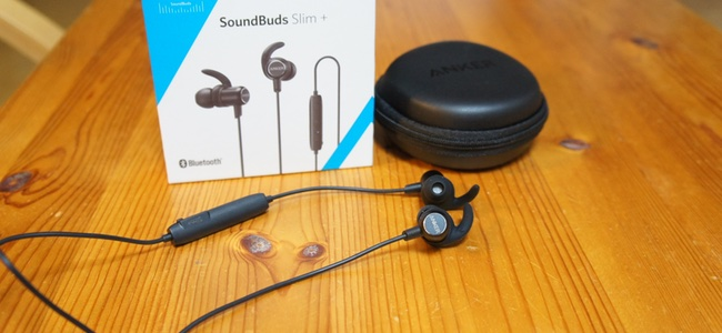 Ankerの定番Bluetoothイヤホンが二重構造ドライバーとaptX対応で高音質化。「Anker SoundBuds Slim+」発売開始
