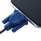 iPhoneにD-Subピンが刺さってる?エレコムがLightningケーブルのコネクタ部分を保護するアイテムを7月下旬より発売