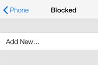 これは実用的!iOS 7では着信拒否機能が利用できるみたい:画像が公開