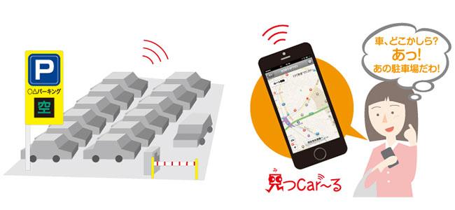 これは便利!駐車位置を自動記録する車探索システム「見つCar〜る」対応車載センサー