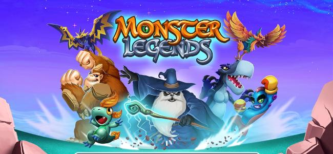モンスターを育てて「Monster Legends Mobile」に挑め!