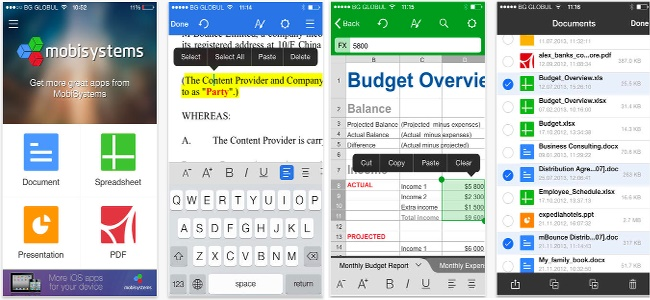 「OfficeSuite」でオフィスファイルやPDFを閲覧&編集!