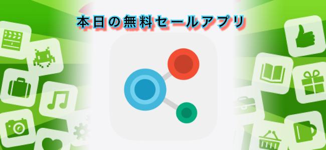 370円 → 無料!英単語の類語をマップ上で繋げて知ることができるアプリ「Interactive Thesaurus」ほか