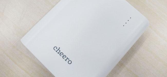 安全性と軽さをとことん追求しつつお手頃価格に抑えた「cheero Power Plus 3」レビュー