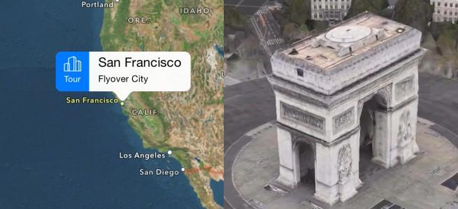 iOS 8の純正マップアプリにバーチャル観光ができる新機能が搭載されるらしい