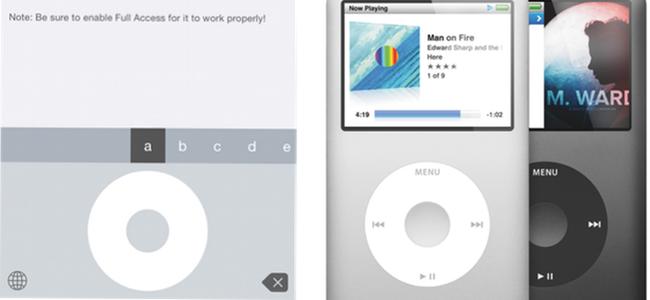 あのコリコリ感をもう一度…!iPodのタッチホイールを再現したキーボードアプリはAppleファンなら入れておきたい!