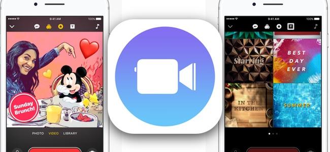 Appleのビデオクリップアプリ「Clips」がアップデート。ディズニーやPixarキャラクターのアニメーションで動画を彩れるように!