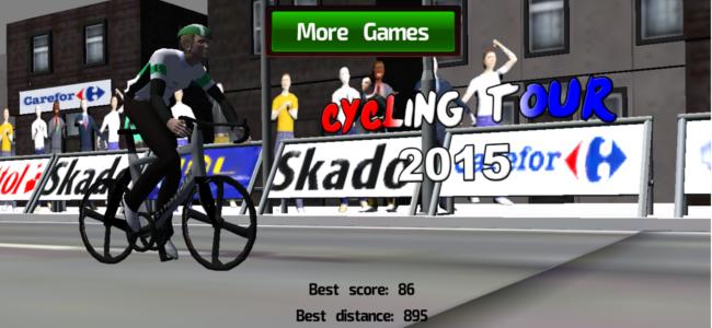 ライバルを華麗に抜き去り風になれ!自転車レースゲーム「Cycling Tour 2015」