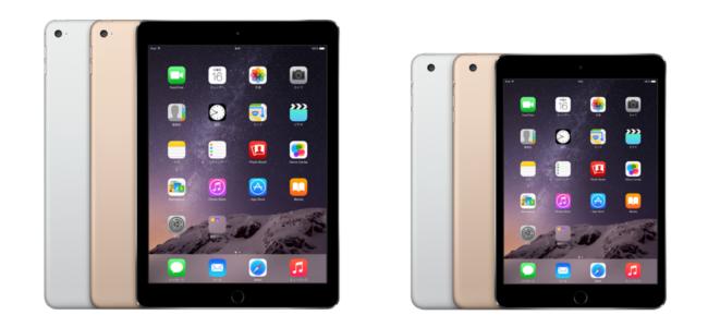 【速報】「iPad Air 2」「iPad mini 3」が家電量販店にて本日発売開始!
