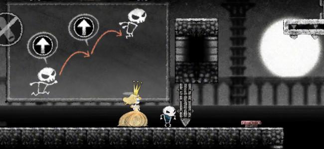 囚われの姫を逃してあげよう!心に響くアクションパズル「Dokuro」