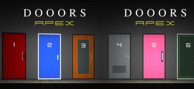 新しい謎解きが盛りだくさん!3D空間から脱出セヨ!「脱出ゲーム DOOORS APEX」
