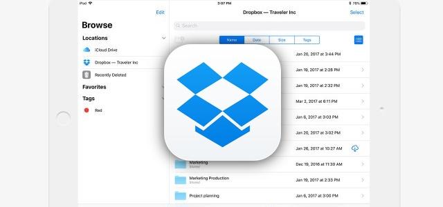 DropboxアプリがアップデートでiOS 11対応。新しい画像形式HEIC/HEIF/HEVCに対応、カメラメーカー各社のRAW画像形式の表示も可能に
