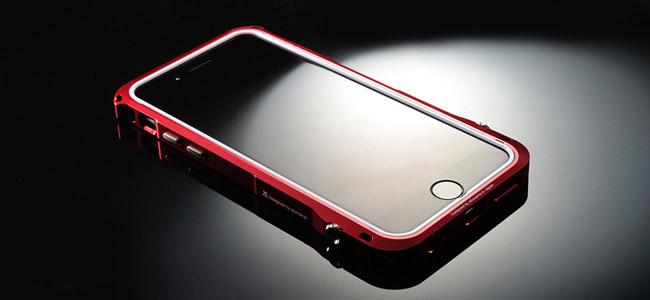1.3mの高さから落としてもiPhoneをしっかりガードしてくれるアルミバンパー「EDGE LINE」