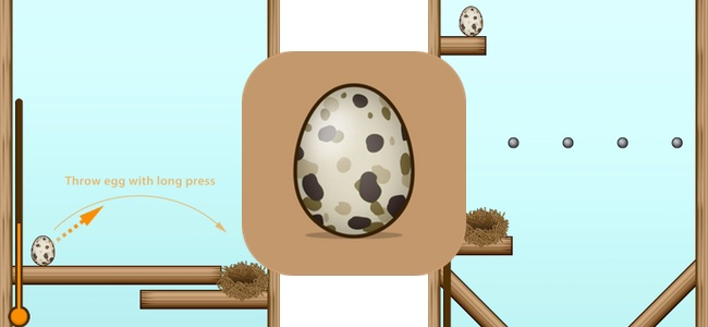 一発成功を狙え!各ステージクリアまでの手数によって生まれるものが変わる、タマゴを巣に投げ入れる物理パズルゲーム「EGG in ONE」レビュー