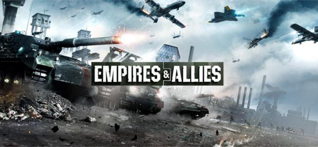 現代兵器を駆使し世界征服せよ!ストラテジーゲーム「Empires & Allies」