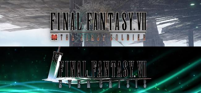 「FINAL FANTASY Ⅶ」関連2作がスマホアプリで発表。FFⅦの世界でバトロワが遊べる「FINAL FANTASY VII THE FIRST SOLDIER」、過去全ての本編・外伝を全て網羅した「FINAL FANTASY VII EVER CRISIS」