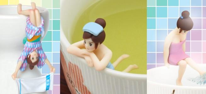 浴衣姿が色っぽい「コップのフチ子♨ colors」や書籍「コップのフチ子のつくり方」も発売、8月もフチ子一色!